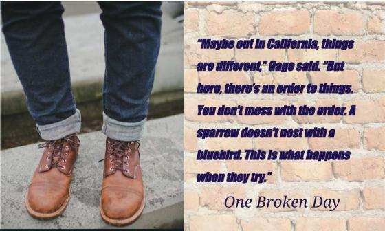 Teaser #2 MacVicar One Broken Day