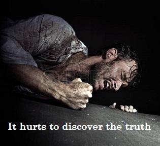Ithurtstodiscoverthetruth