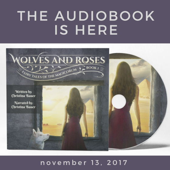 THE AUDIOBOOK IS HERE